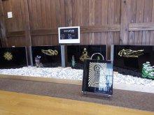 やまのべ雛街道イベント 〜石の作品展&手作り物産展〜:画像