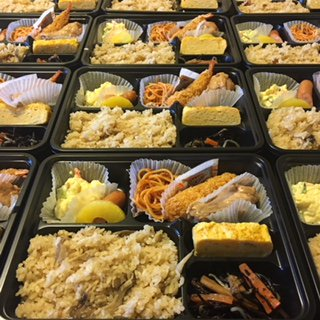 ☆味よし「この日のお弁当も、ありがとうございました!!」:画像