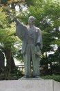 上杉鷹山像 松ヶ岬公園 【米沢市】:画像
