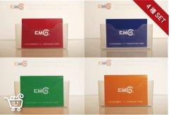 CMGひらめきカード〈4種組〉拍手カード・問題カード・変身カード・本音カード:画像
