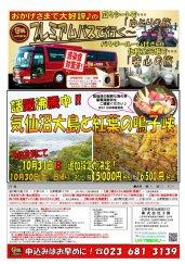 【日程追加!】プレミアムバスで行く!気仙沼大島と紅葉の鳴子峡:画像