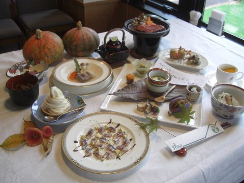 こだわったお料理の数々:画像