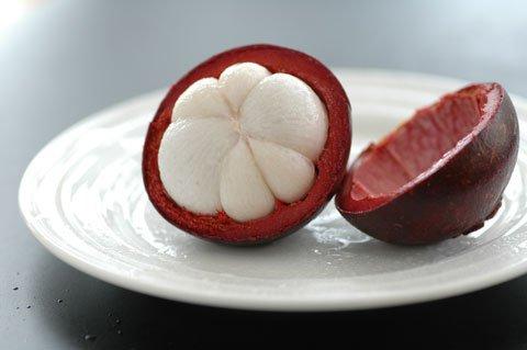 フレッシュ・マンゴスチンの食べ方:画像