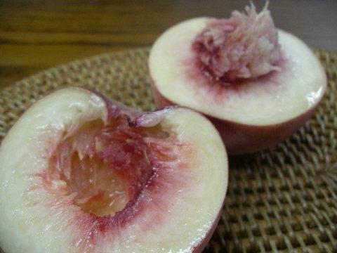 「桃は大きいものが旨い!」:画像