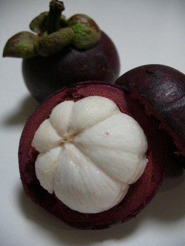 タイ王国産《フレッシュ・マンゴスチン》果物の女王:画像