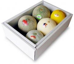 メロン食べ比べbox/melon5種類〜夢の競演:画像