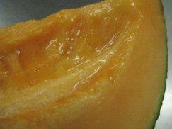 北海道産《らいでんレッド113》秋の赤肉メロン:画像