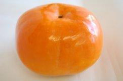 福岡産《早秋柿/そうしゅうがき》鮮やかなオレンジ色:画像
