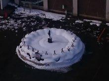 大雪の 晴れ間にケーキと パフェを食う:画像