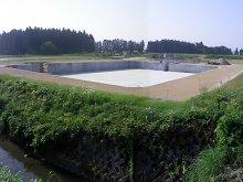 平成24年度 山王原地区農地整備事業(経営体育成型)第1工区..:画像