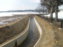 平成28年度 萩生地区農村地域防災減災事業(用排水施設整備)..:画像