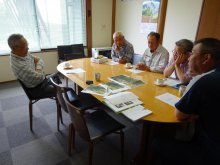 6月27日締切堤防復元整備プロジェクト打合会:画像