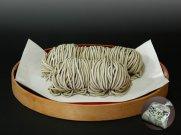 山形県尾花沢 星川のなま麺 花笠そば(田舎蕎麦)(5食入/つゆ付):画像