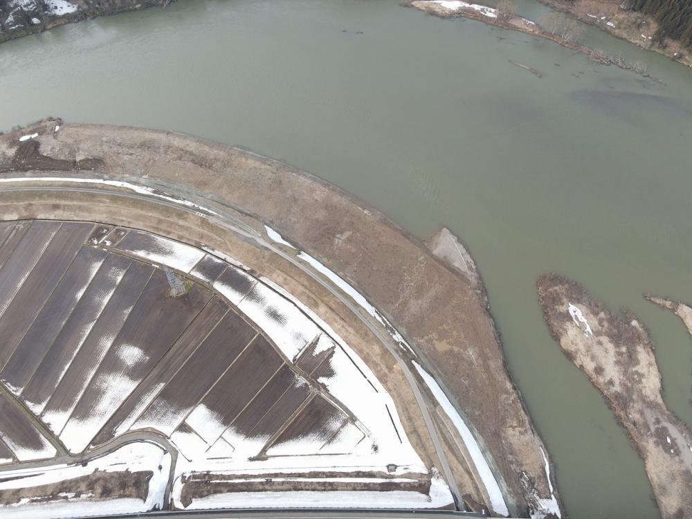 最上川中流戸沢下流地区河道掘削工事:画像