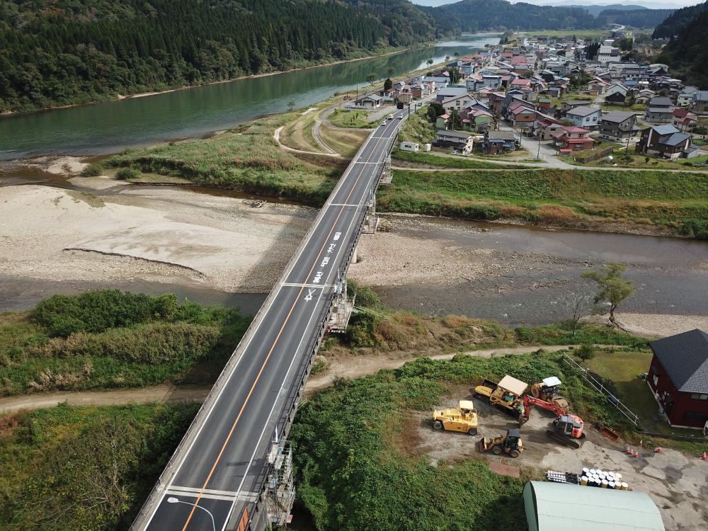 角川橋補修補強工事:画像