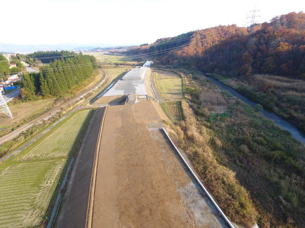 野田地区道路改良工事:画像