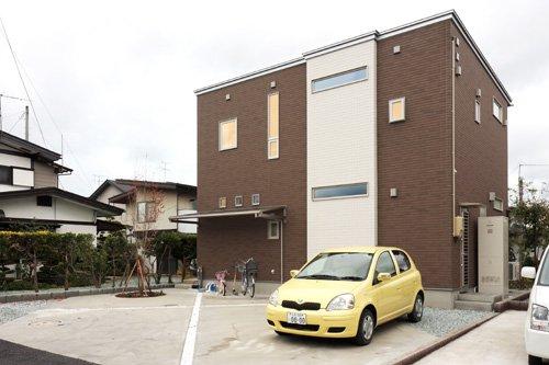 スキップフロアのあるWOOD MODERN / 天童市O様邸:画像