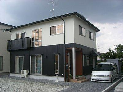県産杉材を使用した和洋の融合住宅  / 山形市K様邸:画像