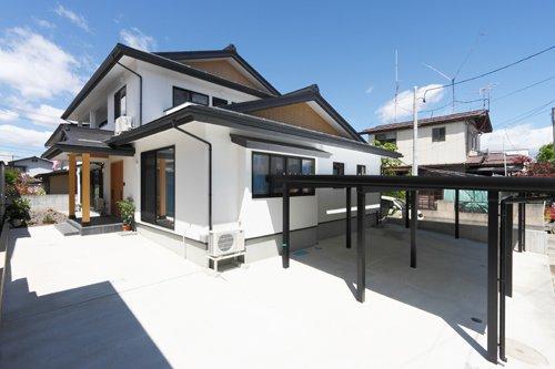 伝統技術を活かす純和風 2世帯住宅 / 山形市T様邸:画像