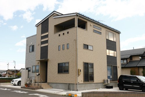 2.5F建ての2世帯住宅 / 山形市A様邸:画像