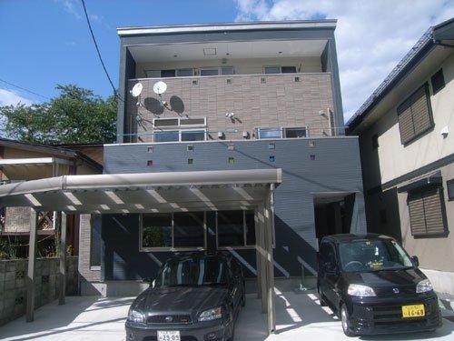 仲良い暮らしを創造する2世帯同居3階建て住宅 / 山形市W様邸:画像
