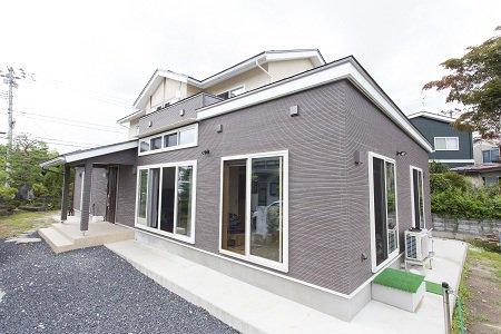 親子で育む二間続きの和室と明るいLDKが隣接する二世帯住宅/寒河江市M様邸:画像
