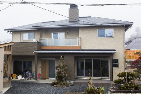 アットホームな同居型二世帯住宅:画像