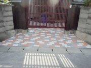 玄関アプローチ工事:画像