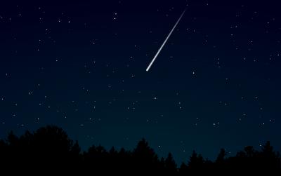 ペルセウス座流星群:画像
