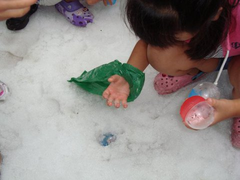 雪上宝探しです!:画像
