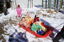 雪遊びをしたよ!!:画像