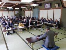 平成28年度 長井市老人クラブ連合会会長名簿です:画像