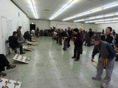 熱投!第39回長井市老人クラブ公式ワナゲ大会:画像