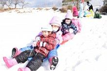はなぞの保育園と伊佐沢児童センターの園児が、交流会しました!:画像