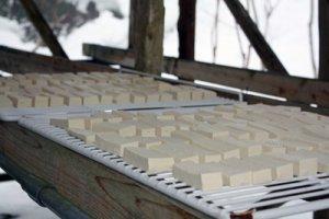 【大石の凍み豆腐づくり〜動画をアップしました♪】:画像