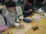 【ロボット工作教室〜小学生篇、動画をアップしました♪】:画像