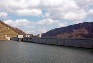 【まもなく最高水位!〜長井ダム現場見学会】:画像