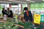 【菜なポートに吉村知事がいらっしゃいました】:画像