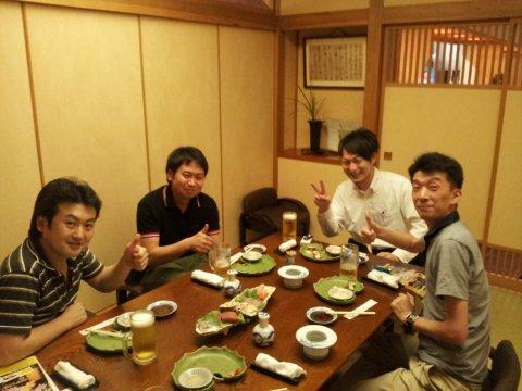 5/28(火) 各種会議からの先輩たち:画像