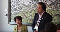 知事と若者の地域創生ミーティングin長井市 (H29.8.3..:画像
