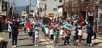 長井市かもしかクラブ交通安全パレード(H29.9.26) :画像