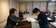 人権啓発標語コンテスト表彰式(H29.12.20) :画像