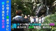 第17回清流ウォーキング〜不動滝(三階滝)コース~:画像