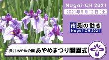 【長井市】令和3年度あやめまつり(令和3年6月12日〜7月4日):画像