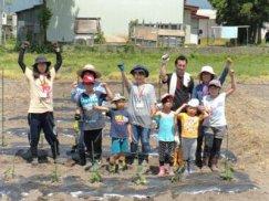 ☆親子チャレンジ教室 畑の楽耕(がっこう)が開講しました:画像