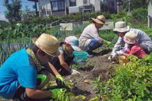 ☆夏の合同会を行いました〜なかよしくらぶ&畑の楽耕:画像
