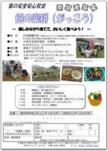 ☆食の安全安心事業 畑の楽耕(はたけのがっこう)【参加者募集..:画像
