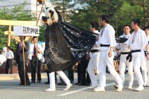 【第21回ながい黒獅子まつり〜夜の部スタート!】:画像