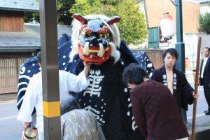【第21回ながい黒獅子まつり〜御信心してもらってなぁ】:画像