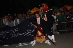 【第21回ながい黒獅子まつり〜九野本 稲荷神社】:画像